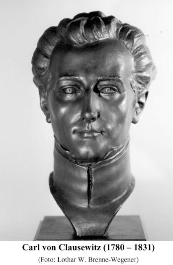 Clausewitz bust-German War College