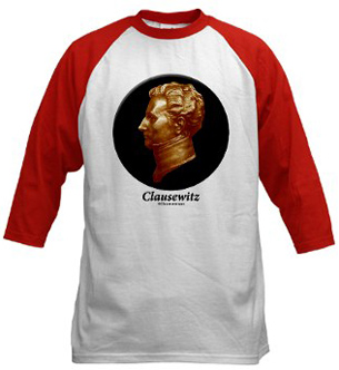 Clausewitz baseball shirt