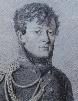 Drawing of Clausewitz c.1807