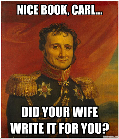 Jomini insults Clausewitz