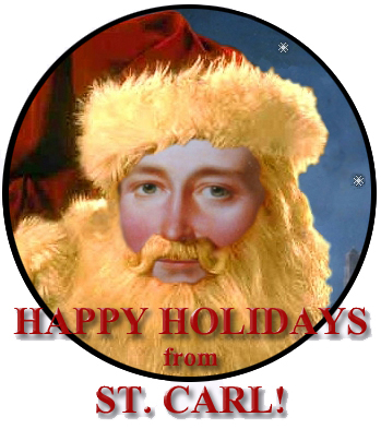 Happy Holidays from Santa Clausewitz