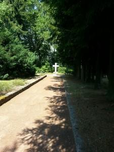 Carl and Marie von Clausewitz's gravesite in Burg