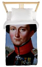 Clausewitz twin duvet cover