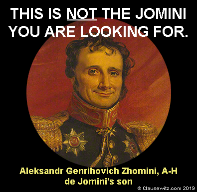 This is NOT the Jomini you're looking for.
