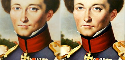 Two Clausewitz images compared.